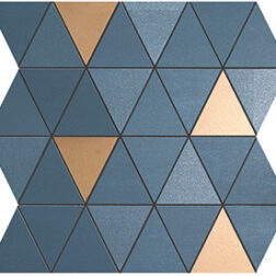 Mek Blue Mosaico Diamond Tiles