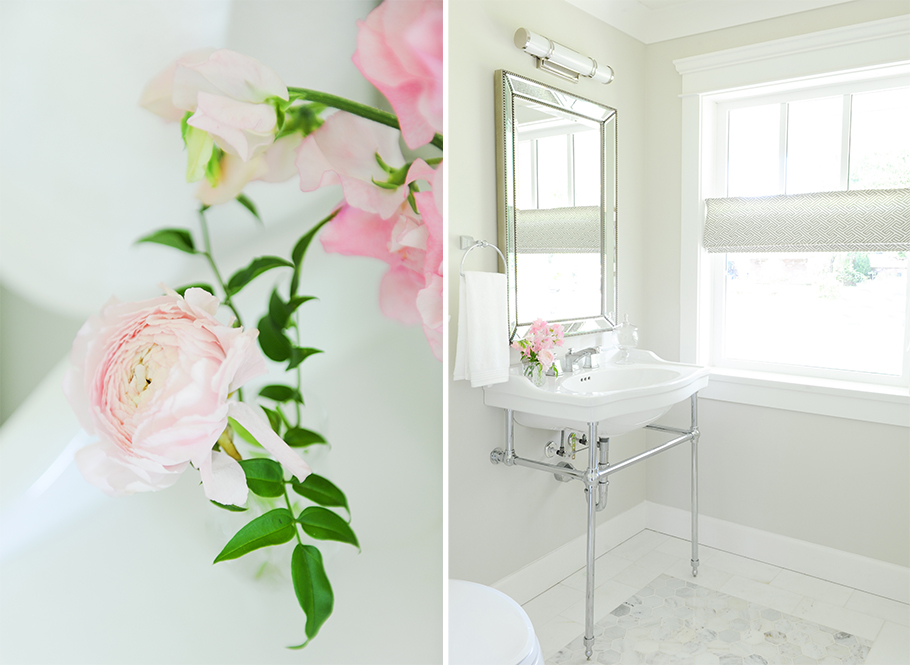Traditional vanity