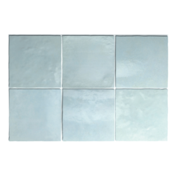 Artisan Aqua Gloss Square Tiles