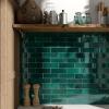Artisan Moss Green Subway Tiles Lifestyle