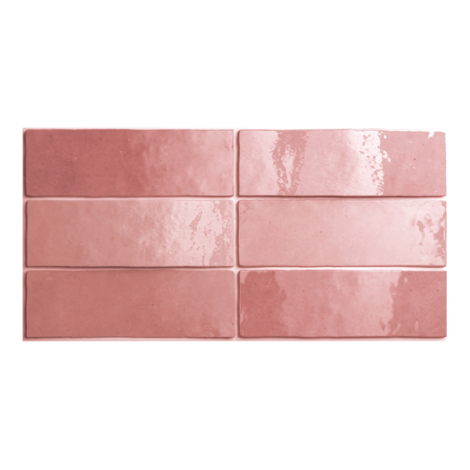 Artisan Rose Gloss Subway Tiles