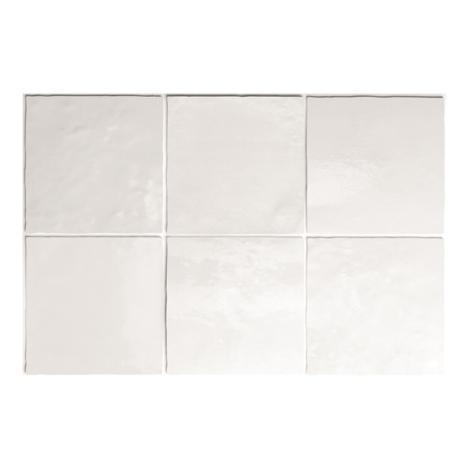 Artisan White Gloss Square Tiles