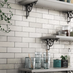 Artisan White Gloss Subway Tiles Lifestyle