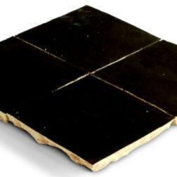 Zellige Black tiles