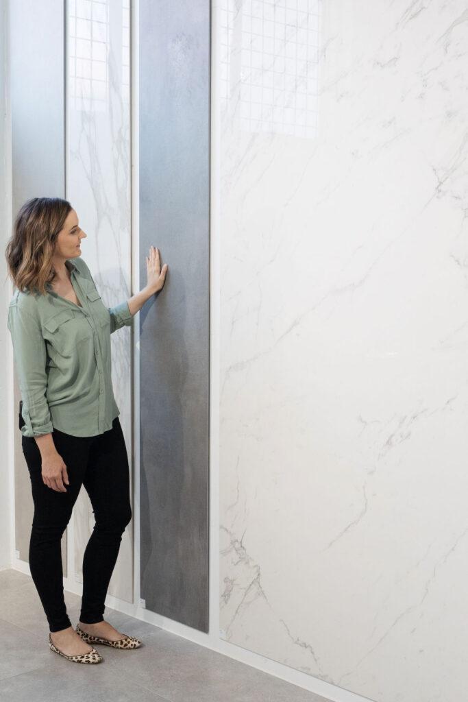 Large panel porcelain tiles at Tile Republic