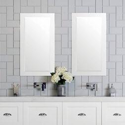 ADP Glass Frame Overlay Mirror