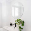 ADP Round Polished Edge 600mm Mirror