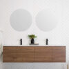 ADP Round Polished Edge 300mm Mirror