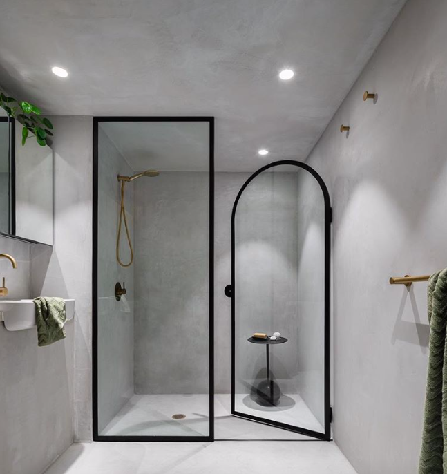 Concrete Tonal Bathroom