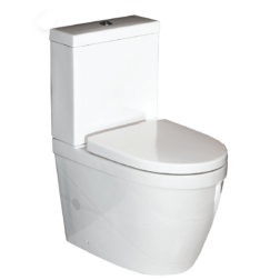 Carlo Compact Close Coupled Back to Wall Short Projection Toilet Suite