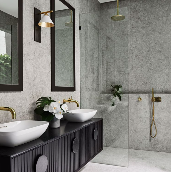 Terrazzo Tonal Bathroom