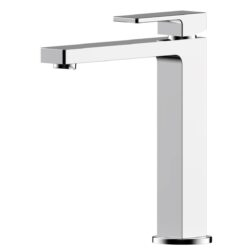 Lozano Lucas Tall Basin Mixer - Polished Chrome