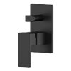 Lozano Lucas Wall Diverter Mixer - Matte Black