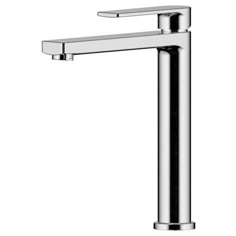 Lozano Terry Tall Basin Mixer - Polished Chrome
