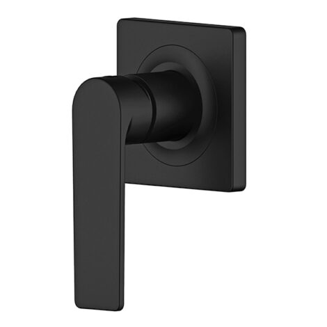 Lozano Terry Wall Mixer - Matt Black