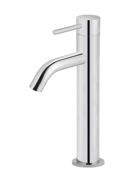 Meir Piccola Tall Basin Mixer Tap - Polished Chrome