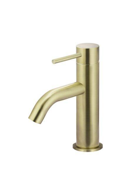Meir Piccola Basin Mixer Tap - Tiger Bronze Gold