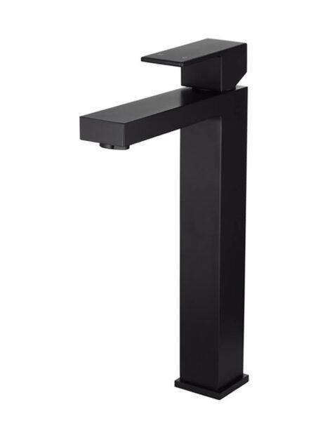 Meir Square Tall Basin Mixer Tap - Matte Black