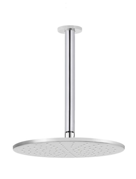 Meir Round Ceiling Shower 300mm rose, 300mm arm - Polished Chrome