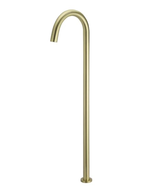 Meir Round Freestanding Bath Spout - Tiger Bronze