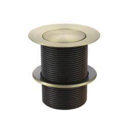 Meir Bath Pop Up Waste 40mm - No Overflow / Unslotted - Tiger Bronze