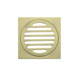 Meir Square Floor Grate Shower Drain 100mm outlet - Tiger Bronze