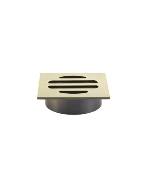 Meir Square Floor Grate Shower Drain 50mm outlet - Tiger Bronze