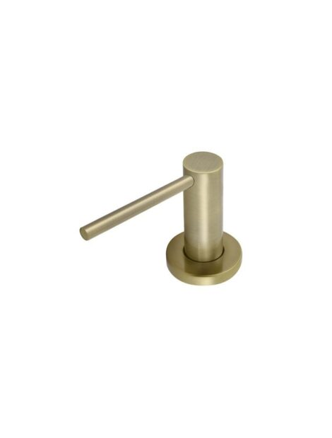Meir Round Soap Dispenser - Tiger Bronze