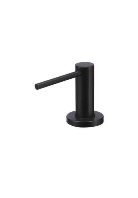 Meir Round Soap Dispenser - Matte Black