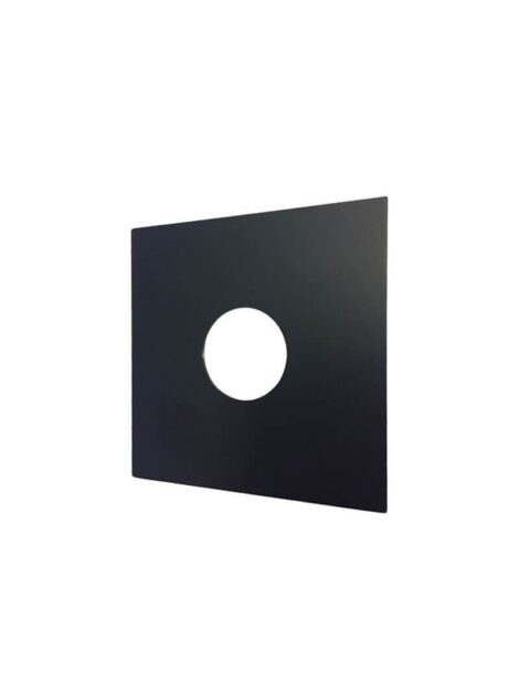 Meir Square Tilers Mistake Cover Plate - Matte Black