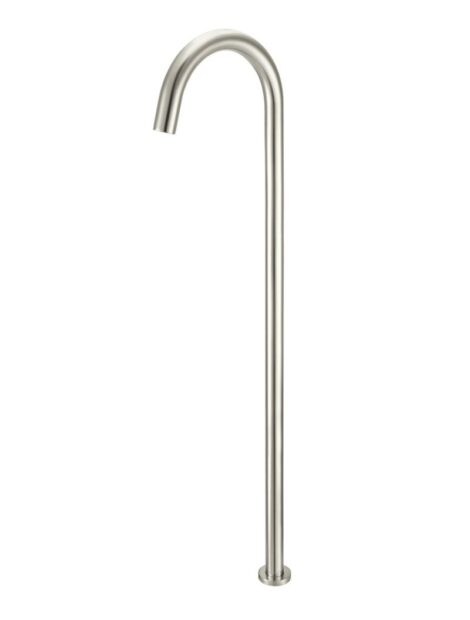 Meir Round Freestanding Bath Spout - PVD Brushed Nickel