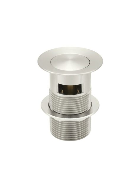 Meir Basin Pop Up Waste 32mm - Overflow / Slotted - PVD Brushed Nickel
