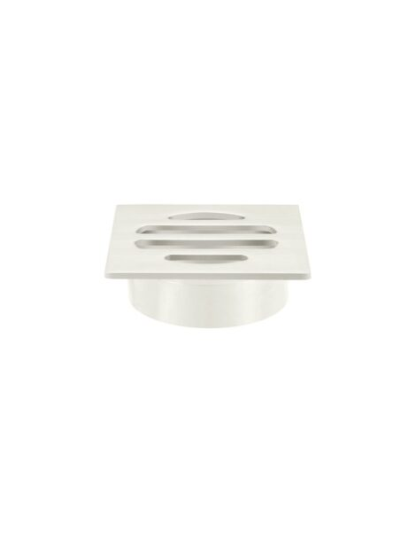 Meir Square Floor Grate Shower Drain 50mm outlet - PVD Brushed Nickel
