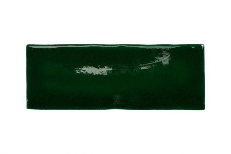 Blackwater Green Ceramic Crackle Gloss Tile