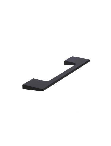 Meir Bevelled Cabinet Handle 128mm - Matte Black