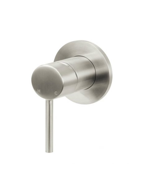 Meir Round Wall Mixer - PVD Brushed Nickel