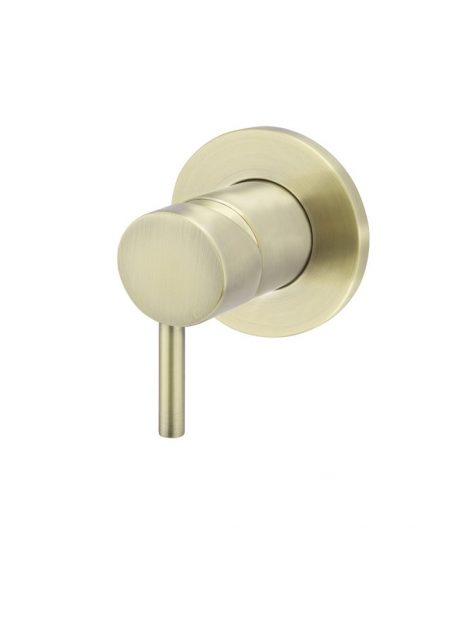 Meir Round Wall Mixer Small Handle - Tiger Bronze