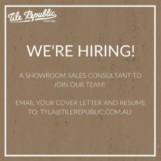 We are looking for a dedicated, self-motivated and intelligent sales consultant to join our dynamic and growing showroom team – working five days per week including Saturday. You will be provided with training across our range of products and suppliers, as well as our sales process and systems!