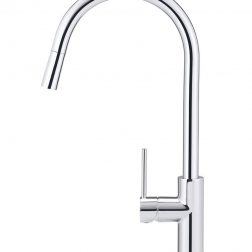 Meir Piccola Out Kitchen Mixer Tap - Polished Chrome