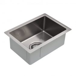 Meir Mini Kitchen Sink - Single Bowl 322 x 222 - Brushed Nickel