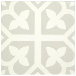 Barcelona Bloom Grey Matt tile