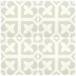 Barcelona Bloom Grey Matt multiple tiles