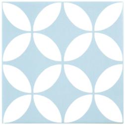 Barcelona Danish Baby Blue Matt tile