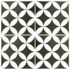 Barcelona Danish Black and White Matt multiple tiles