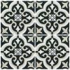 Barcelona Prague Black and White Matt multiple tiles