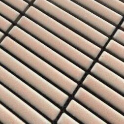 Vintage Pink Finger Mosaic Tiles